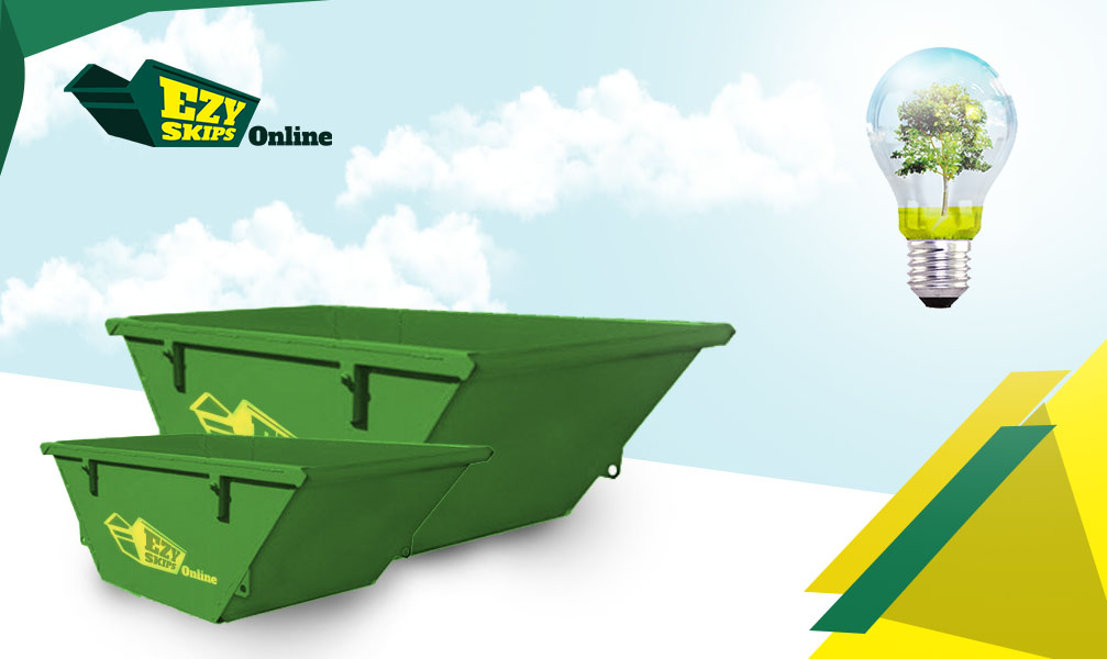 different size of residential skip bin
