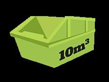 10 metres cubic