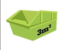 3 metres cubic